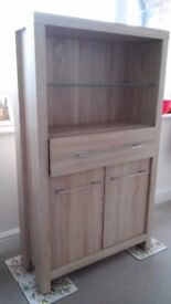 Next home bathroom cabinet. Floorstanding. Was £150 when new. In excellent unmarked condition.