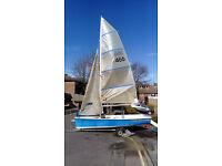 Topper Sport 14, safe, fast, exciting cruiser/racer. Ideal low maintenance first boat