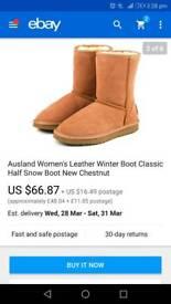 Ausland boots size 7