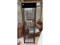 A4 card or paper storage/ display stand. Sturdy metal.