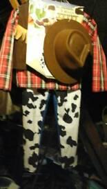 Boys size 6-8 cowboy suit