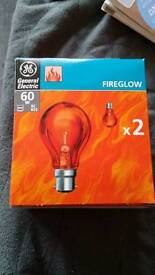 22 fireglow lightbulbs