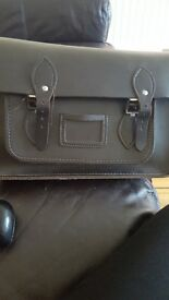 Lovely leather school satchel