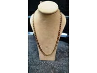 9ct Curb chain   14.9g   Yellow Gold