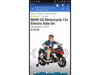 brand new bmw electric motorbike