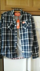 superdry winter shirt
