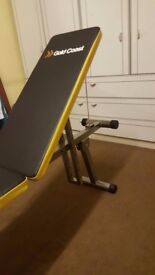 Incline/Flat/Decline Bench for Weightlifting and Situp Exercises
