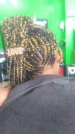 Braids Twist, cornrow ,crochets, weavon, wedding hairstyle, pédicure,fake locks,