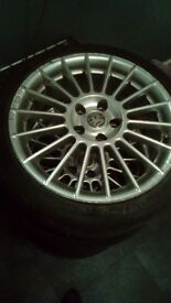 17inch fox racing alloys