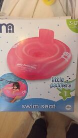 Baby swim seat from mother care