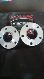 Set of 4 20mm precision wheel spacers