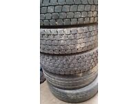 Man 8150 wheels and tyres 215/75/17.5