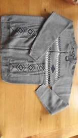 Gents zip front jumper