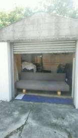 Designer three seater sofa bed/futon