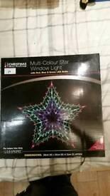 Led multifunction star window light