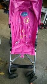 Pink buggy,stroller