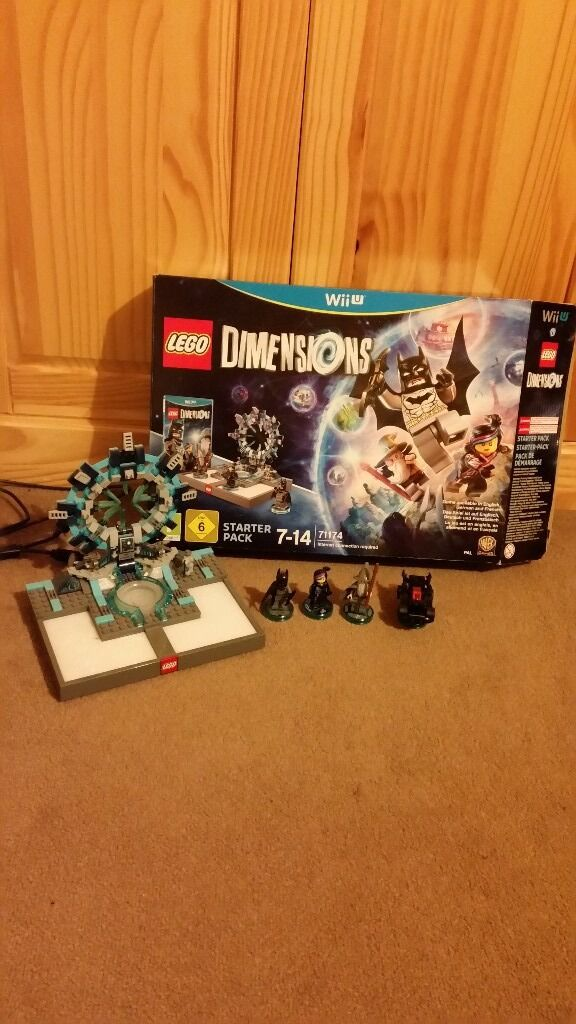Lego Dimensions for Wii U - Starter pack and guide booklet. excellent condition. in original box.