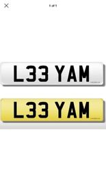 L33 YAM private plate for sale