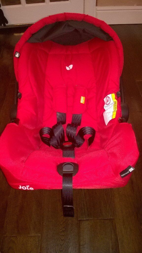 JOIE GEMM CAR SEAT 0-13KG NEVER USED