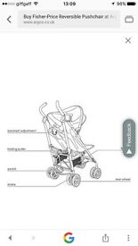 Reversible pushchair great collection