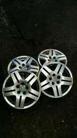 "VW Mk 4 Alloys 15"" - Genuine"