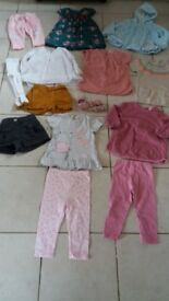 Bundle of 9-12 girls clothes