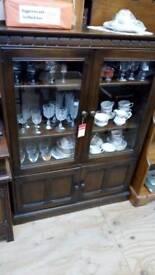 Ercol oak drink cabinet