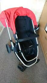 Mothercare Pushchair/Pram with footmuff