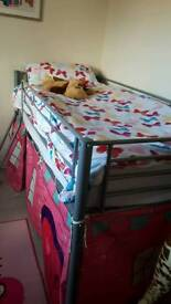 Child's mid single bed