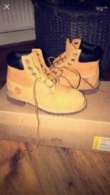 Brand New Timberland Boots Size 13uk Infant