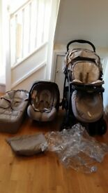 Graco Travel System Buggy/pushchair, car seat, carry cot