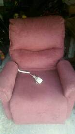 Riser, recliner armchair