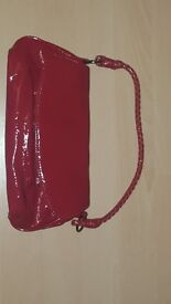 Brand new Red Patent bag