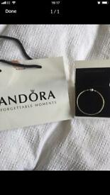 Genuine pandora bangle