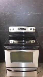 OS0429A GE Stainless Steel Glass Top Self Cleaning Oven FREE DELIVERY, INSTALLATION AND DISPOSAL INCLUDED