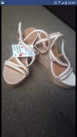 Brand new with tags h and m wedges
