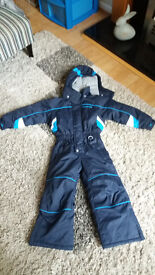 Trespass Navy Blue Ski Suit, age 2-3 years