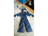Trespass Navy Blue Ski Suit, age 2-3 years
