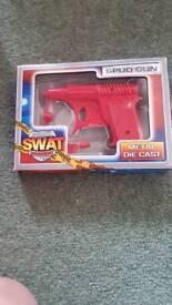 Kids watch n spud gun