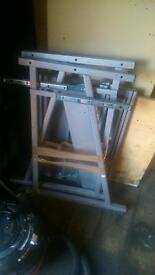 Ikea metal desk
