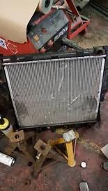 P38 radiator