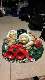 Christmas tree base.