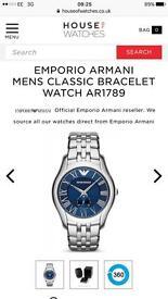 Men's Armani watch (Real)