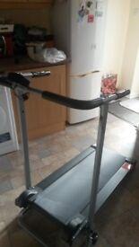 V-fit Manual Folding Treadmill - MTT1