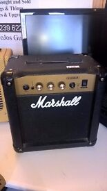 Marshall Amplification MG30DFX Combo - 30 Watt Electric Guitar Amplifier