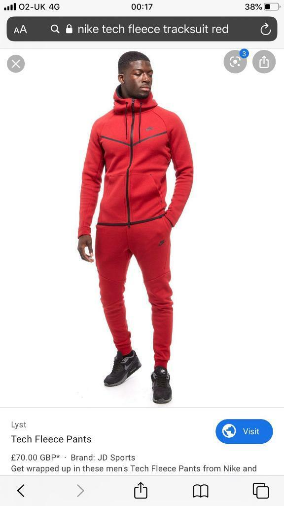 Nike Tracksuit Fleece Tech Ebay 7c47b 6c77a