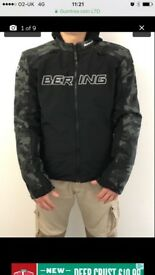 Bering motorcycle jacket xl