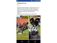 Complete golf setup £50ono