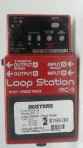 Boss RC-3 Loop Station Effect Pedal (1) (#109803) (DR1217481) We Sell Used Instruments!