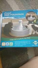 Pet water fountain- like brand new